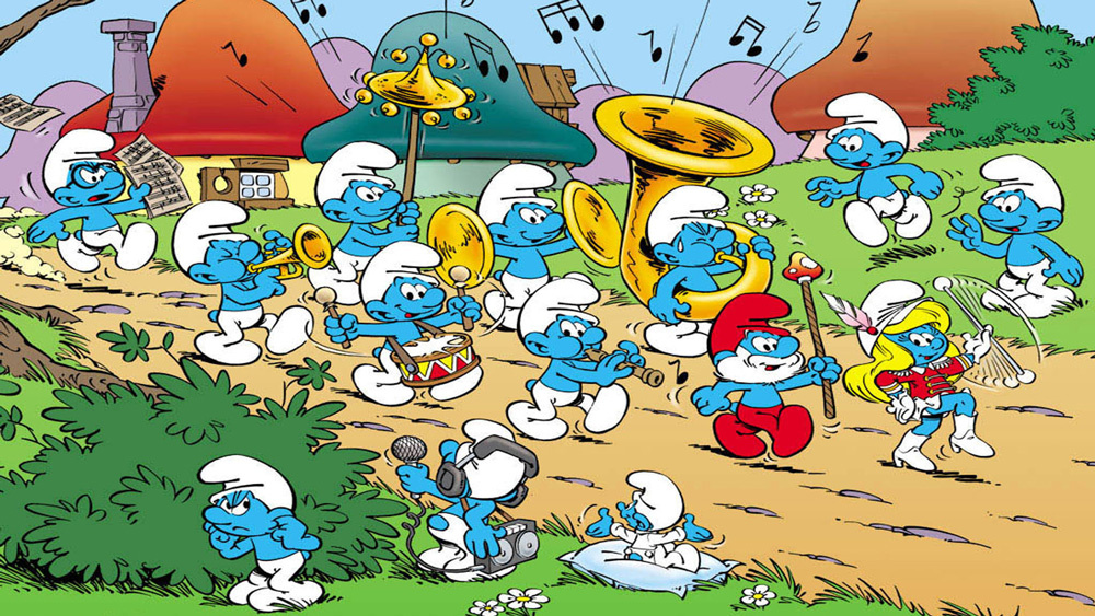Were the Smurfs actually real?