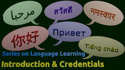 Introduction & Credentials